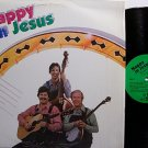 Bluegrass Brethren - Happy In Jesus - Vinyl LP Record - Christian Gospel