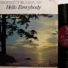 Apostles Of Brooklyn, NY - Hello Everybody - Vinyl LP Record - Black Gospel