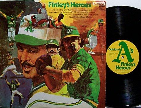 Oakland A's - Finley's Heroes - Vinyl LP Record - Athletics - Baseball Sports