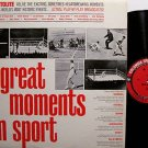 Great Moments In Sport - Vinyl LP Record - Babe Ruth / Jack Dempsey etc