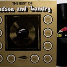 Hudson & Landry - The Best Of - Vinyl LP Record - Comedy