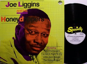 Liggins, Joe & The Honeydrippers - Self Titled - Vinyl LP Record - R&B Soul