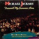 Jackson, Michael - Farewell My Summer Love - Sealed Vinyl LP Record + Poster - R&B Soul