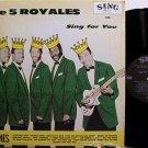 Five Royales - The 5 Royales Sing - Vinyl LP Record - R&B Soul