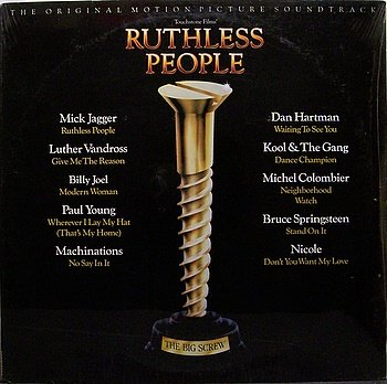 Ruthless People Soundtrack Sealed Vinyl Lp Record Ost