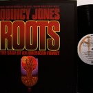 Roots - Soundtrack - Vinyl LP Record + Poster - Quincy Jones - OST