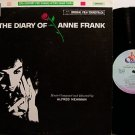 Diary Of Anne Frank, The - Soundtrack - Japan Pressing - Vinyl LP Record - OST