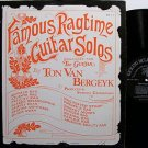 Van Bergeyk, Ton - Famous Ragtime Guitar Solos - Vinyl LP Record - Folk