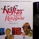 Kraft 75th Anniversary Radio Special - Kraft Brand Foods - Vinyl LP Record - Odd Unusual Weird