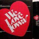 Cook, Bob - We Love Iowa - Vinyl LP Record - Odd Unusual Weird