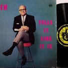 Brown, Jack - Tells It Like It Is (Drug Addict) - Vinyl LP Record - Odd Unusual Weird