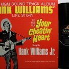 Williams, Hank / Jr. - Your Cheatin' Heart Movie Soundtrack - Vinyl LP Record - Country