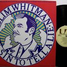 Whitman, Slim - It's A Sin To Tell A Lie - Vinyl LP Record - Country