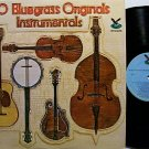 20 Bluegrass Originals Instrumentals - Vinyl LP Record - Various Artists