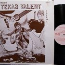 Texas Talent Volume 1 - Various Artists - Vinyl LP Record - Country
