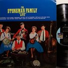 Stoneman Family, The - Live - Vinyl LP Record - Bluegrass