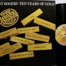 Rogers, Kenny - Ten Years Of Gold - Vinyl LP Record - Country