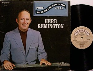 Remington, Herb - Pure Remington Steel - Vinyl LP Record - Country