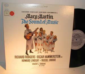 Martin, Mary - Sound of Music - Soundtrack - Vinyl LP Record - Rodgers Hammerstein - OST