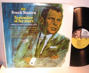 Sinatra, Frank - September of My Years- Stereo - Vinyl LP Record - Pop