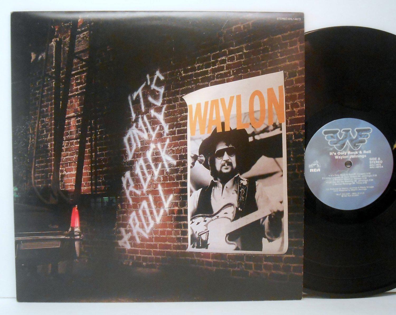 Jennings, Waylon - It's Only Rock & Roll - Vinyl LP Record - Country