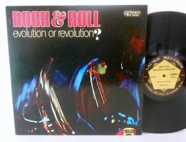 Rock & Roll - Evolution Or Revolution - Vinyl LP Record - Stereo - Rock