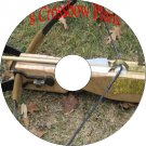 8 Old Vintage Plans how to build a Crossbow Bow & Arrow CD