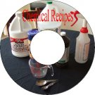 10's of Thousands of Chemical Recipes Formulas on 26 Books On CD