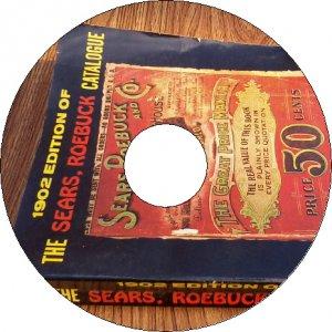1902 No. 112 Sears Roebuck Old Vintage Catalog Book on CD