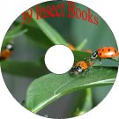 39 Old Rare Books About Insects, Bugs, Ants,Centipedes On CD