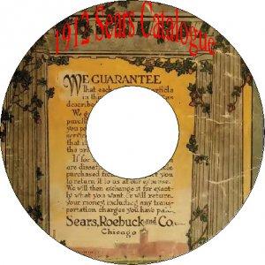 1912 No.124 Sears Roebuck Old Vintage Catalog Book on CD