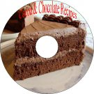 Chocolate and Cocoa Recipes and Home Made Candy & 38 Other Recipe Books On CD-R