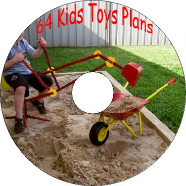 64 Old Vintage Plans How to build Kids Toys Telescopes Radios Models PDF on CD