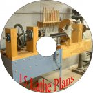 15 Old Vintage Plans how to build Your Own Lathe & Accessories On A CD-R