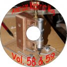 American Machinist Magazines Volume 58,59 & Related Books On CD Trains Foundry