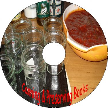30 Old Books About Canning Preserving Jams Jellies Fruit Pickles Books On CD-R