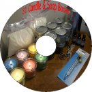 31 Old Books How to Make Homemade Candles & Soap Recipes And Manuals on CD