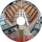 150 Vintage Plans How To Build a Boat on CD-R Skow
