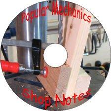 Popular Mechanics Magazines Shop Notes 1905-06-07-08-09-12-13-17-18-19-20-21 CD