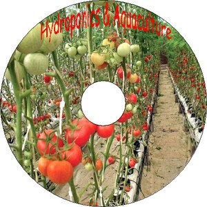 37 Books Hydroponics Aquaponics Aquaculture Agronomy Algology Fish Farming CD