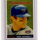2007 Topps Heritage Chrome Austin Kearns card# THC20 serial #'d 1091/1958