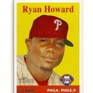 2007 Topps Heritage Ryan Howard card# 310 - Phillies