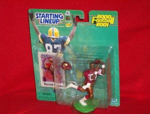 2000 Hasbro Starting Lineup Terrell Owens - 49ers