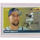 2004 Topps Heritage Chrome John Smoltz card serial #'d 0977/1955