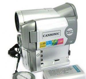 2.5 Inch LTPS LCD 32MB 8X Digital Zoom Digital Camcorder