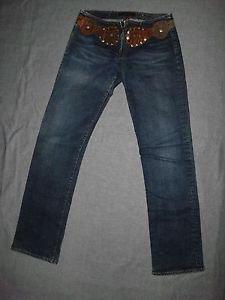 AG Adriano Goldschmied Women's Jeans, Belly Button, HMY 1024, Size 29 REGULAR