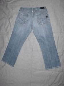 CITIZENS OF HUMANITY WOMEN'S JEANS, KELLY# 063, LOW WAIST, CROPPED, SIZE 28