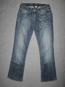 LUCKY BRAND   JEANS,  LARKSPUR 3D ZOE BOOT JEAN, WASH: OL FOOTFAULT  SIZE 0/25