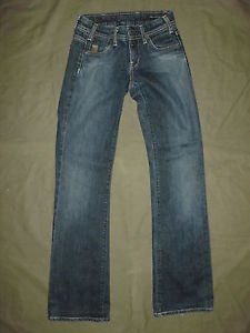 """Citizens of Humanity thrumb print h #075 bootcut jeans size 24 (Inseam 32"""")"""