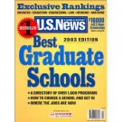 #1 Bestseller U. S. News & World Report Best Graduate Schools 2003 Edition